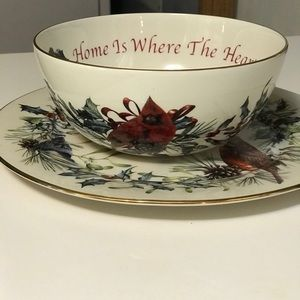Lenox American Home Winter Greetings Collection